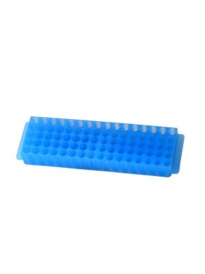 80 Well Microcentrifuge Tube Racks, Blue, 5/Pack