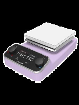 Premium Digital Stirring Hot Plate, Ceramic, Pink, 120v