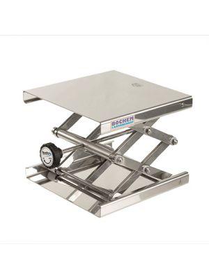 BrandTech® Stainless Steel Lab Jack, 12x12