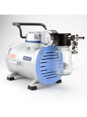 Oil Free Laboratory Vacuum Pump, Chemical Resistant Diaphragm Vacuum Pump, Model Rocker 300c, 20 liters/minute,  25.64inHg, AC110V, 60Hz