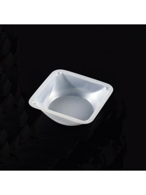 Weigh Dish, Square Polystyrene, Small, 1 5/8 x 1 5/8 x 5/16