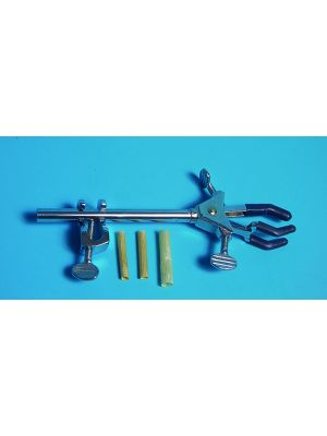 3-Prong Clamp Universal Clamp With Holder