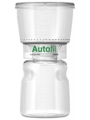 Autofil Bottle Top Filters, 0.1μm, .2μm (sterilizing grade) or 0.45μm (clarification grade) asymmetric PES membrane filter