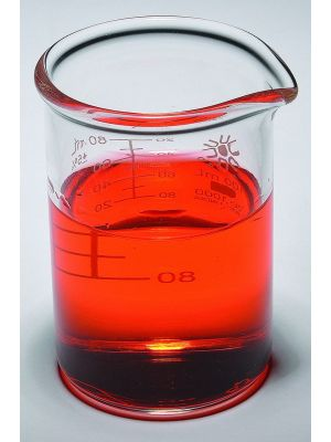 Beakers, Low Form, Borosilicate Glass, Heavy Duty, 250ml, 12/pck