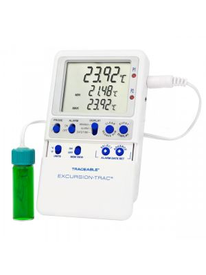 Traceable® Excursion-Trac™ USB Datalogging Refrigerator/ Freezer Vaccine Thermometer