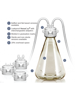Erlenmeyer Cell Culture Flask, Polycarbonate