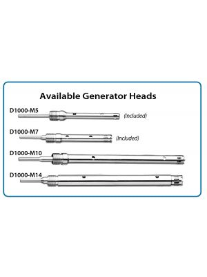 Homogenizer Generator 14mm x 130mm saw tooth, for 50ml tubes up to 250ml vessels (optional)