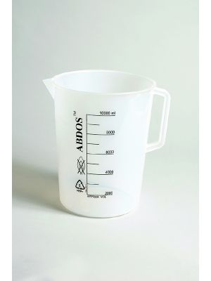 Beakers with Handle, Printed Graduations, Polypropylene (PP)