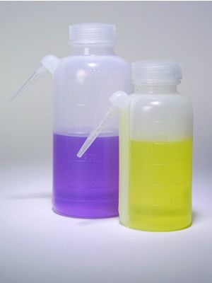 Wash Bottle, Unitary, LDPE