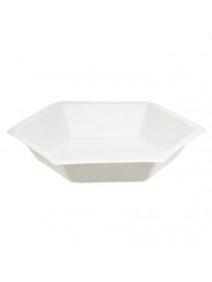 Weigh Dish, Hexagonal Polystyrene, 4 3/4