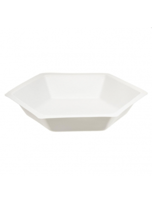 Weigh Dish, Hexagonal Polystyrene,  1 3/4 x 3/8
