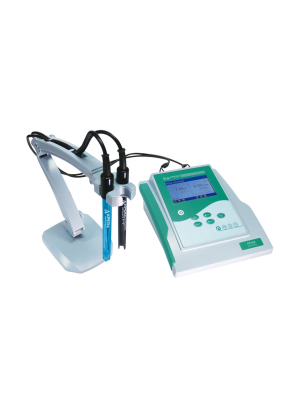 PC910 Benchtop pH/Conductivity-Meter Kit, pH Accuracy ±0.01, pH Range 0 to 14.00