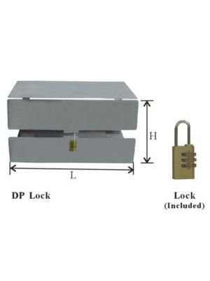 Security Lock Devices for Upright Freezer Racks