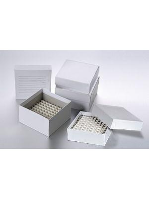 Cardboard Cryo Freezer Box, 3 x 3 x 2