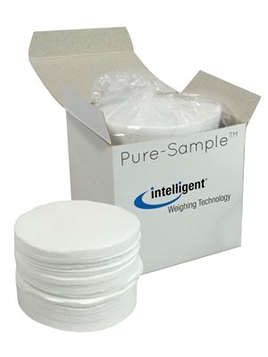 Glass Fiber Sample Pads for Moisture Analysis, 9cm, 200/pck