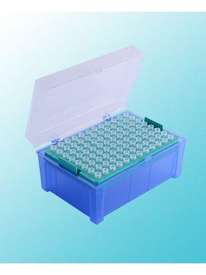 Pipette Tips, 2-200ul, Racked, Sterile, 96/Rack, 10 Racks/Case