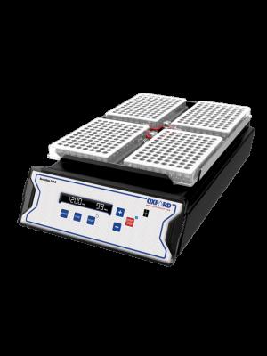 OXFORD BenchMate® 4 Plate Shaker, 3mm Orbital Diameter, Speed Range 200-2000 rpm.