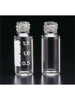 Pre-Assembled 12x32mm R.A.M. Vial, Clear, 9mm Thread, with 0.040