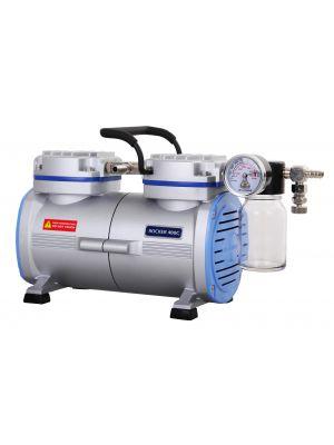 Oil Free Laboratory Chemical Resistant Vacuum Pump, PTFE Coated, Model Rocker 410c, 23Liters/Min, 29.18inHg, 110v