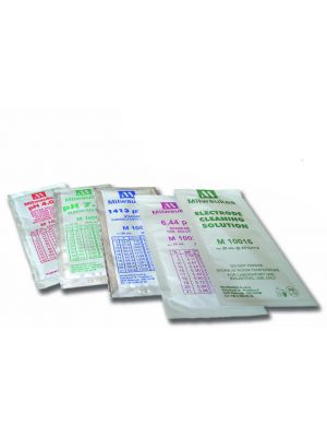 pH Buffer Pouch Assortment, 5 Each of pH 4.01, 7.00, 10.00 Rinse Water.  20 Pouches/Box