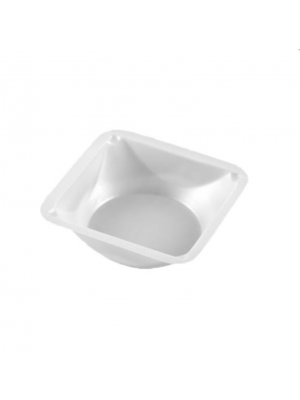 Weigh Dish, Square Polystyrene, Medium, 3 1/2 x 3 1/2 x 1