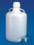 Carboy With Stopcock, Polypropylene, 10-Liters