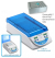 Myblock Il™- Digital Dry Bath with 2 Quick-Flip™ Blocks (BSWCMB) for Tubes (0.2 to 2.0ml, PCR Strips and PCR Plates, 115V