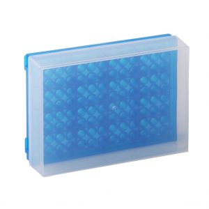 96 Well PCR Prep Rack, Blue, 5/Pack