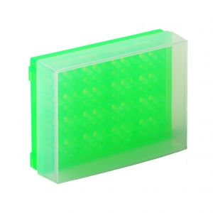 96 Well PCR Prep Rack, Green, 5/Pack