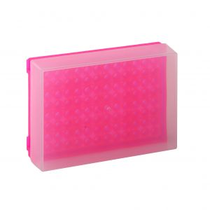 96 Well PCR Prep Rack, Pink, 5/Pack