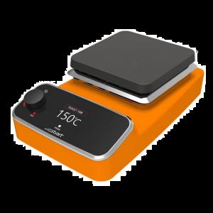 Premium Digital Hot Plate, Aluminum, Orange, 120v