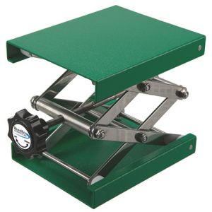 BrandTech® Powder Coated Aluminum Lab Jack, 9.5x9.5