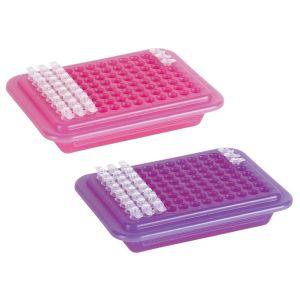 PCR® Cooler Rack, 96 Well, Pink, 2/ea.