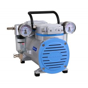 Oil Free Vacuum/Pressure Pump, Model 430, 34 liters/minute, 24.90inHg, 80 psi, AC 110V/60Hz