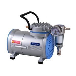 Oil Free Laboratory Vacuum Pump, Model Rocker 300, 20 liters/minute, 26.82inHg, AC110V, 60Hz