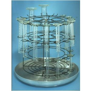 Graduated Cylinder Drying and Storage Rack