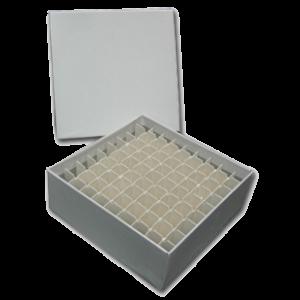 Cardboard Cryo Freezer Box, Low Profile, 2