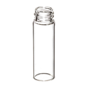 Chromatography Vials, Big Mouth Screw Thread Vials 12x32mm, 10-425mm, Clear Borosillicate Glass, 2mL, 1000/CS