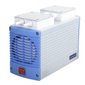 Chemical Resistant Diaphragm Vacuum Pump, Chemker 400, 38lpm, 26.82inHg, AC110V,