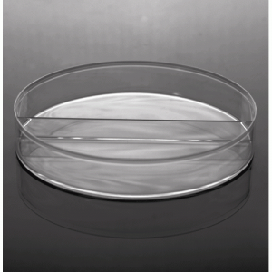 Petri Dish - I-Plate (Two Compartment), 100 x 15mm, Polystyrene, Sterile, 500/cs