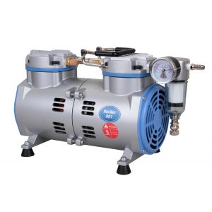 Oil Free Laboratory Vacuum Pump, Model Rocker 801, 80 liters/minute, 26.38inHg, AC 110V/60Hz