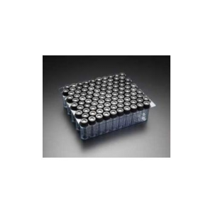Chromatography Vials, Pre-assembled Convenience Pack, Standard Opening Screw, 8x425mm Thread, Clear Vial, Black Polypropylene Cap, PTFE Septa, 0.010