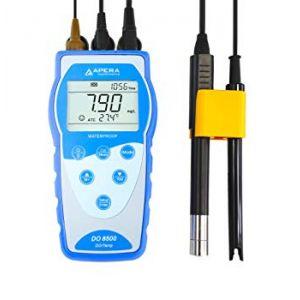 DO8500 Portable Optical Dissolved Oxygen Meter Kit, 1/Ea