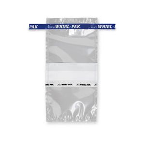 Whirl-Pak® Write-On Bags - 18 oz. (532 ml) - Box of 500 - Blue Tape