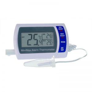 Block Heater MIN-MAX Alarm Digital Bottle Thermometer - NIST Certified