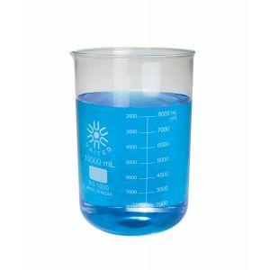 Beakers, Low Form, Borosilicate Glass, 10000ml, 1ea