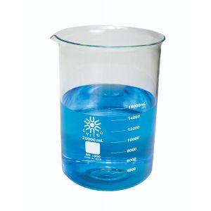 Beakers, Low-Form, Borosilicate Glass, 20,000 ml, 1ea.