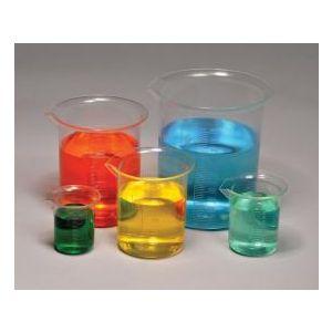 Plastic Beaker Set, Polymethylpentene (PMP), Set of 5 (50ml, 100ml, 250ml, 500ml and 1000ml)