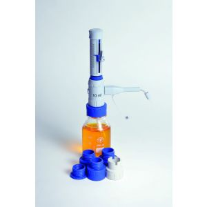 Bottle Top Dispenser Set With Glass Reagent Bottle