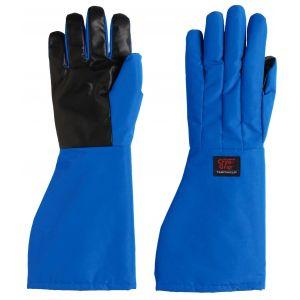 TEMPSHIELD® Waterproof Cryo-Grip® Gloves, Elbow, Large (10), Blue